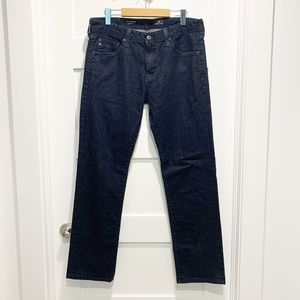AG The Matchbox Slim Straight Jeans Dark Wash Blue